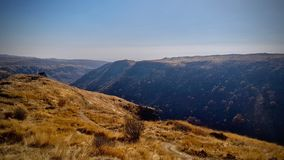 Berge in Georgia lizenzfreie stockbilder