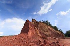 Berge graben für Nutzung Stockbilder