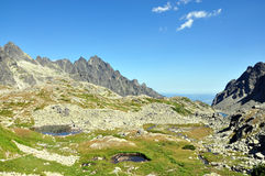 Berge - hohes Tatras Lizenzfreies Stockfoto