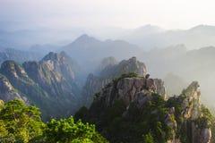 Berge Huangshan Lizenzfreies Stockfoto