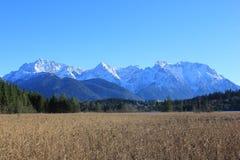 Berge im Bayern Stockbild