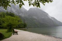 Berge im Bayern Stockfoto