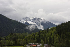 Berge im Bayern Lizenzfreie Stockfotos