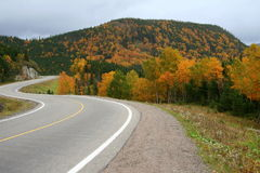 Berge im Herbst Stockfotos