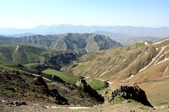Berge im Iran lizenzfreies stockbild