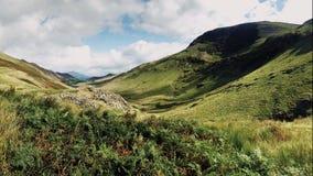 Berge im Seebezirk stockbilder