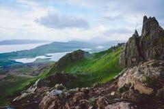 Berge, Insel von Skye stockfoto