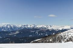 Berge in Italien Stockbild