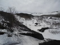 Berge in Japan Lizenzfreie Stockfotos
