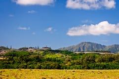 Berge Kauais, Hawaii Stockfotos
