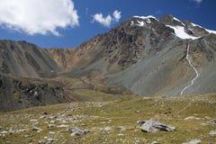 Berge in Kirgistan Stockfotografie