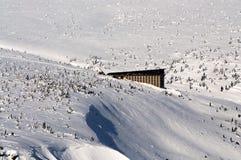 Berge Krkonose Stockfoto