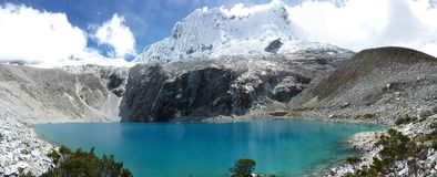 Berge, Lago 69 Lizenzfreie Stockfotos