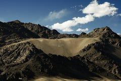 Berge, Landschaft, Himmel, Ladakh, Natur, Reise, Lizenzfreie Stockfotografie