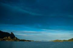 Berge - Lofoten - Norwegen Stockfotos