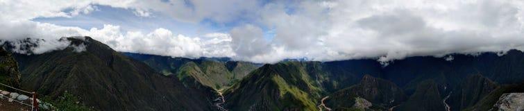 Berge Machu Picchu Stockfotos