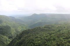 Berge, Mauritius lizenzfreie stockfotos