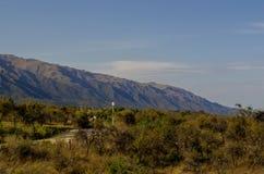 Berge in Merlo, San Luis, Argentinien lizenzfreie stockbilder