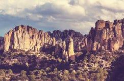 Berge in Mexiko Lizenzfreies Stockfoto