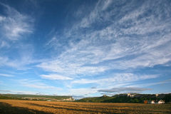 Berge nähern sich Chufut-Kohl Bakhchisaray Krim Stockfoto