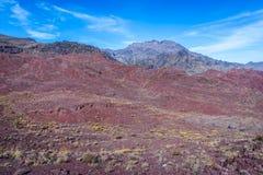 Berge nahe Abyaneh Lizenzfreie Stockfotos