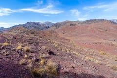Berge nahe Abyaneh Lizenzfreie Stockfotografie