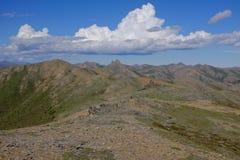 Berge Nationalparks Ivvavik Stockfotos