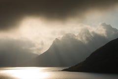 Berge in Norwegen Lizenzfreies Stockfoto