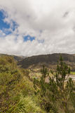 Berge Pastaza-Flusses, Anden lizenzfreie stockfotos