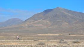 Berge Playa Blanca Lanzarote Lizenzfreie Stockfotos