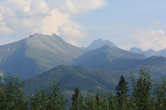 Berge in Polen Lizenzfreie Stockfotos