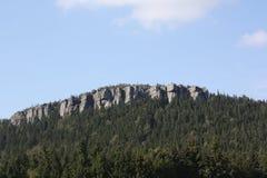 Berge in Polen Stockbild