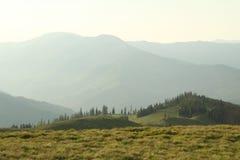 Berge in Rumänien Lizenzfreie Stockfotografie