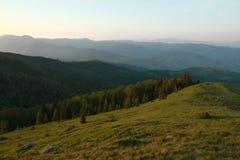 Berge in Rumänien Stockfotografie