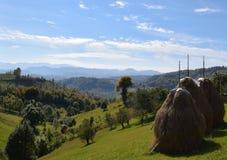 Berge Rumäniens Siebenbürgen stockbild