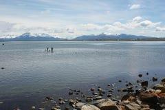Berge, Süd-Chile Lizenzfreie Stockbilder