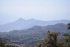 Berge in 3 Schatten lizenzfreie stockfotografie