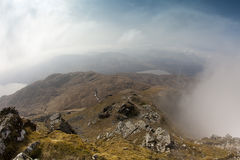 Berge. Schottland stockbild