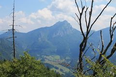 Berge in Slowakei Lizenzfreie Stockfotografie