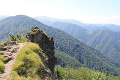 Berge in Slowakei Mala Fatra Wenig Fatra Er ist und harmonisch sehr schön Lizenzfreie Stockbilder