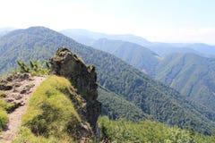Berge in Slowakei Mala Fatra Wenig Fatra Er ist und harmonisch sehr schön Stockbild