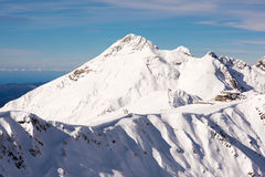 Berge in Sochi-Erholungsort 7 Lizenzfreies Stockfoto