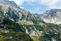 Berge, Tal von fünf Seen, Polen, Zakopane Stockbilder