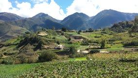 Berge Timotes Mérida Lizenzfreies Stockfoto
