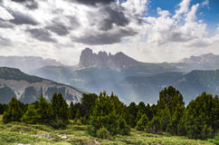 Berge Trentino Alto Adige, Italien Stockbilder