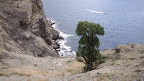 Berge und das Meer stock footage