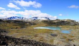 Berge und Seen Lizenzfreies Stockbild