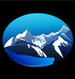 Berge und Spitzen