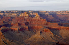 Berge und Täler - Grand Canyon Stockfotos