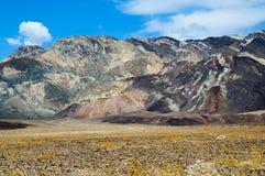 Berge und Wüste Colourfull Stockfoto